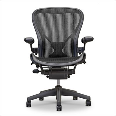 amazon com herman miller aeron chair large size c kitchen dining