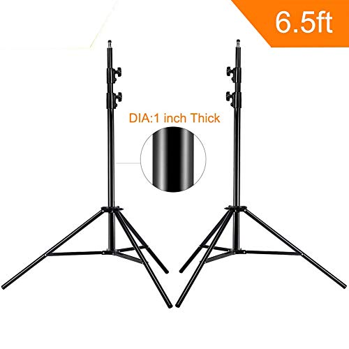 MOUNTDOG Upgraded 6.5 Ft/ 200CM / 78inch Photography Tripod Light Stand Aluminum Alloy Photographic Stand for Studio Reflector Softbox Umbrellas-6.5ftX2 by MOUNTDOG (Image #9)