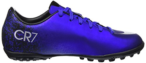 Nike Youth MercurialX Victory V Ronaldo Turf Shoes (10.5C) Deep Royal -