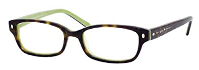 740d7e09a0b Image Unavailable. Image not available for. Color  Kate Spade Lucyann  Eyeglasses-0DV2 Tortoise Kiwi -47mm