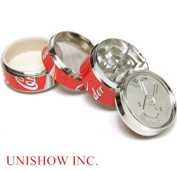 "Pop CAN 2"" ,Super Mini tobacco Herb Grinder,4 Parts from Unishow"