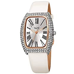 Swarovski Crystal Diamond Rectangle Watch