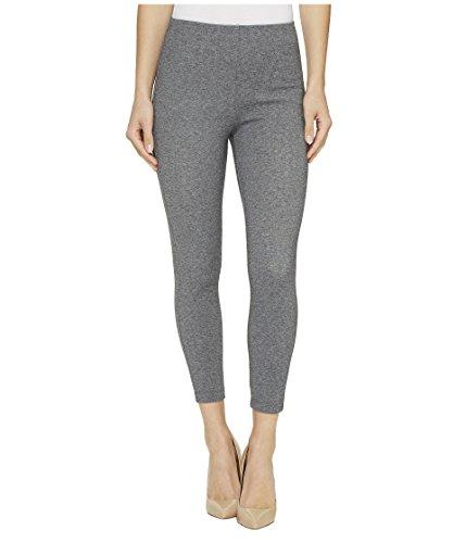 Lyssé Women's Mindy Zip Crop, Grey Tweed, XL