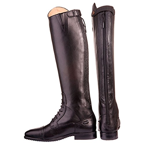 HKM–Botas de equitación Valencia estándar de largo/ancho Marrón - marrón