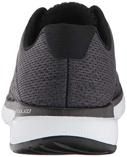 Chaussures Skechers de 3 Bkw White Noir 0 Black Fitness Flex Femme Satellites Appeal wrqYXgr