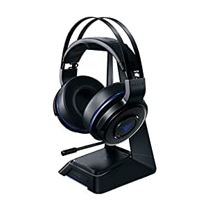 Razer Thresher Ultimate for PS4: Dolby 7.1 Surround Sound - Lag-Free Wireless Connection - Retractable Digital Microphone - Base Station Wireless Receiver - Gaming Headset Works with PC & PS4