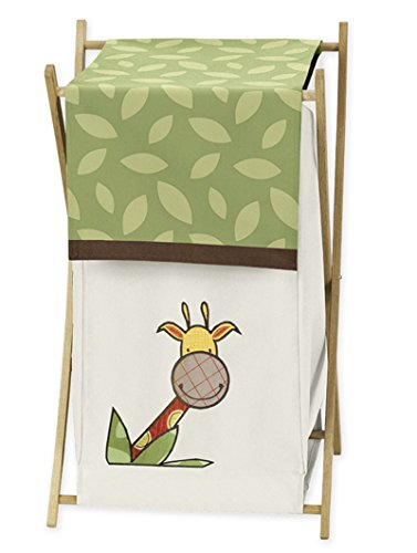 Jungle Time Baby Kids Clothes Laundry Hamper for Sweet JoJo Designs for Jungle Time Bedding
