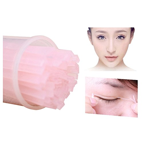 100 Pcs Makeup Double Eyelid Sticker Tape Technical Adhesive Eye Tapes Eyelid Strips for cheap