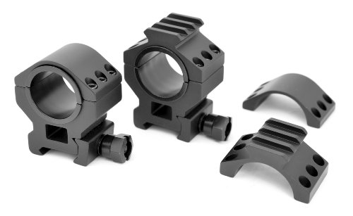 TMS HEAVY DUTY TACTICAL Medium SCOPE RING SET 30MM 1