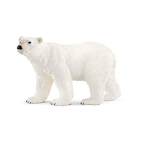 Schleich Polar Bear Toy Figurine