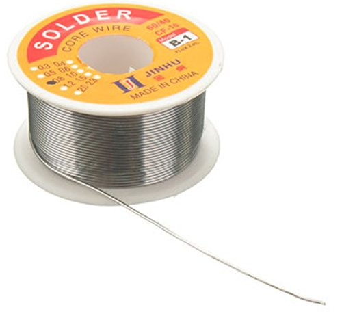 0.8mm 60/40 Tin Advanced position Solder Wire HQ Flux Multi Rosin Cored Solder for DIY Hobby by Rubyshop
