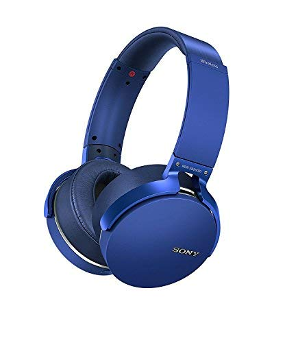 Sony MDR XB950B1 On Ear Wireless Premium Extra BASS Headphones  Blue