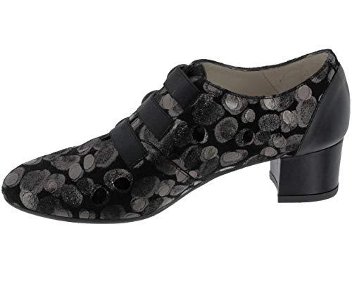 Mujer Zapatos Zaro Piel Lisa De Brenda Cordones zqFxAYAp