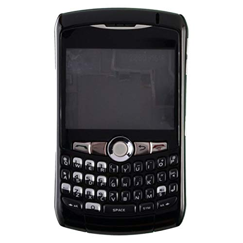 Housing (Complete) for BlackBerry 8300, 8310, 8320 Curve (Black) with Glue Card