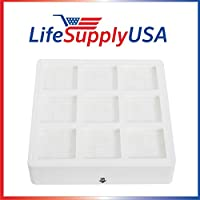 LifeSupplyUSA aftermarket replacement Filter designed to fit IQAIR Pre Max Filter F8 iq air premax 102 10 10 00