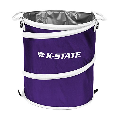 Logo Brands Collegiate Collapsible Multi Function Pop-Up Barrel: Cooler, Hamper or Trash Can