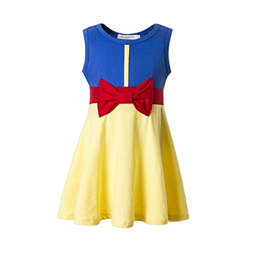 ceb90670 Ruikajia Girls Mermaid Dress Girls Summer Dresses Kids Cartoon Dresses  Children 3-8 Years - Buy Online in UAE. | Apparel Products in the UAE - See  Prices, ...