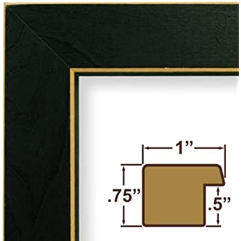 amazoncom 12x20 picture poster frame wood grain