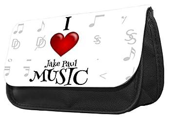 Estuche divertido con diseño de Jake Paul con texto en ...