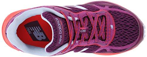 New Balance Wt910v2 Trail Chaussure De Course Pourpre / Orange