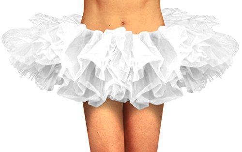 White Tutu Skirt For Adults (Organza Tutu White)