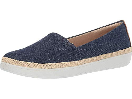 Trotters Women's Accent Penny Loafer, Blue Jeans, 8.5 M US