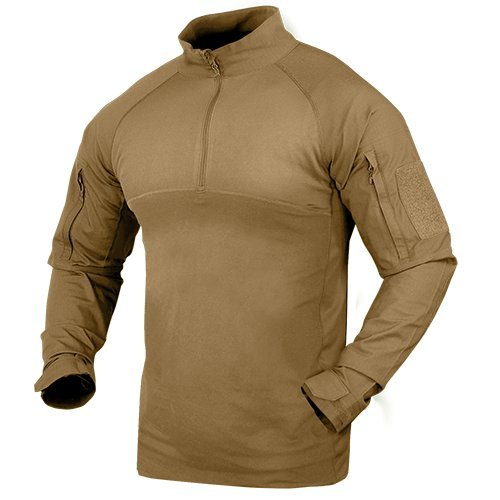 - Condor 101065-003-XL Combat Shirt - Tan - Size XL