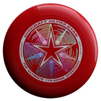 Discraft Ultra-Star 175g Ultimate Disc (Dark Red)
