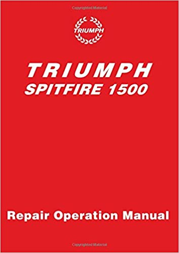 Triumph Spitfire  Repair Operation Manual Brooklands Books