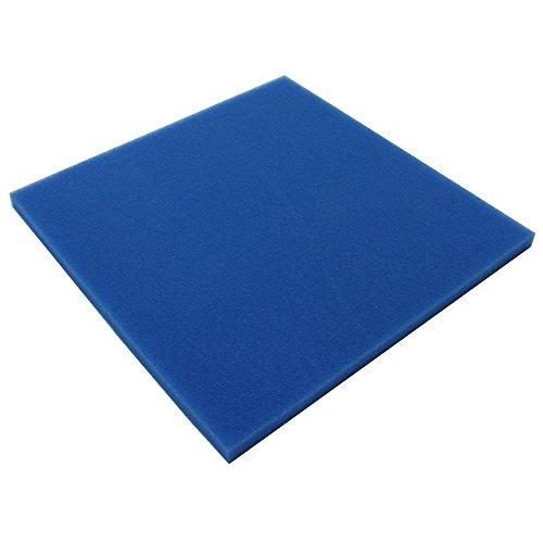 JBL 6256200 Mehrweg-Schaumstoff für Aquarienfilter gegen alle Wassertrübungen, Filterschaum blau fein, 62562