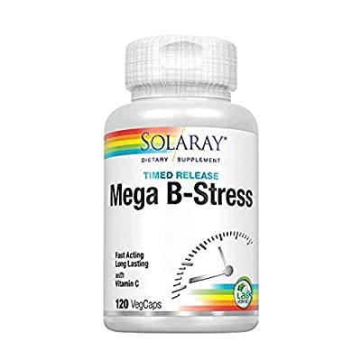 SOLARAY TwoStage Mega-B-Stress, 120 CT