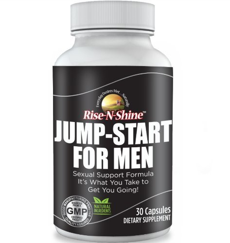 Jump Start For Men - Best Selling Natural Sexual Support Supplement with Tongkat Ali, Maca, Fenugreek, Tribulus Terrestris, Horny Goat Weed, Ginseng and more!