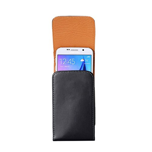 Premium PU Leather Vertical predicament Holster together with Belt snap for Samsung Galaxy Note 8 Galaxy S8 Active Motorola Moto G5s E4 Plus LU Studio J8 Grand XL BLU Vivo 8 Alcatel Idol 5S Black4 Belt Clips Holsters