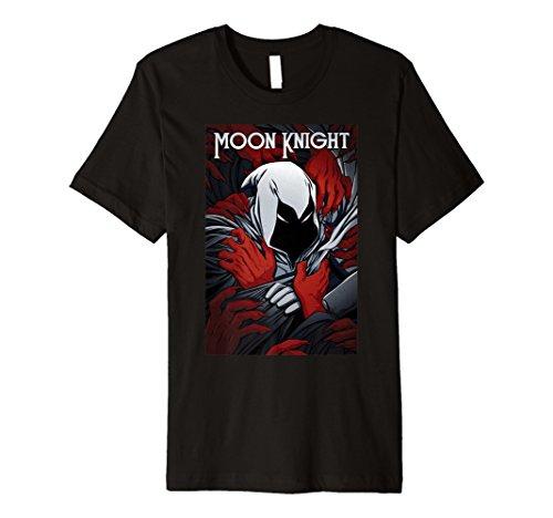 Marvel Moon Knight Choked Comic Cover Premium T-Shirt