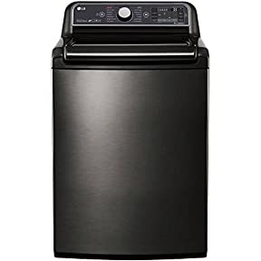 LG 5.2 Cu. Ft. Black Stainless Steel Top Loading Washer