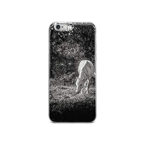 - iPhone 6/6s Case Anti-Scratch Creature Animal Transparent Cases Cover Delta Horse V Animals Fauna Crystal Clear