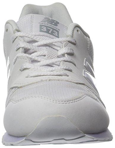 New Balance 373v1, Zapatillas Unisex Adulto Blanco (White)