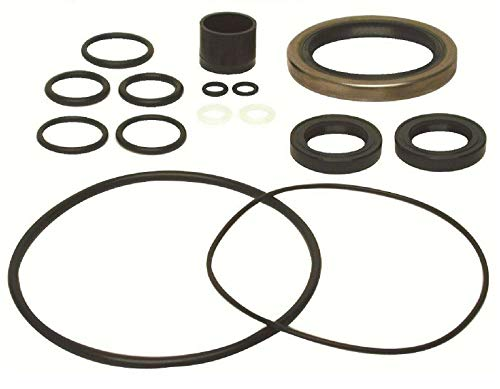 GLM Upper Gearcase Seal Kit for Mercruiser Alpha One Generation II 2 1991 & Up Replaces 18-2644, 26-88397A1 Please See Product Description Below for Exact Applications