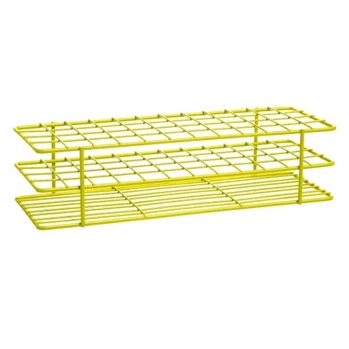 Bel-Art Products 18755-0002, Poxygrid Yellow Test Tube Rack, 48 Places (Pack of 5 pcs)