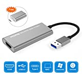 USB 3.0 to HDMI, USB3.0 Adapter Converter with DisplayLink Chipset for Multiple Monitors up to 2560X1440@50Hz (Support Windows/Mac OS/Android/Chromebook/Ubuntu)