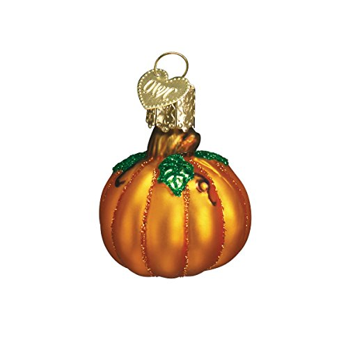 - Old World Christmas Ornaments: Assorted Miniature Pumpkins Glass Blown Ornaments for Christmas Tree (28047)
