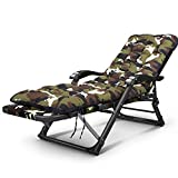Axdwfd Deck chair Lounge Chair, Folding Lunch Break Siesta Bed Home Back Chair Lazy Couch Portable Beach Chair Indoor Lunch Break, Outdoor Play, Etc. 178 * 52 * 25cm