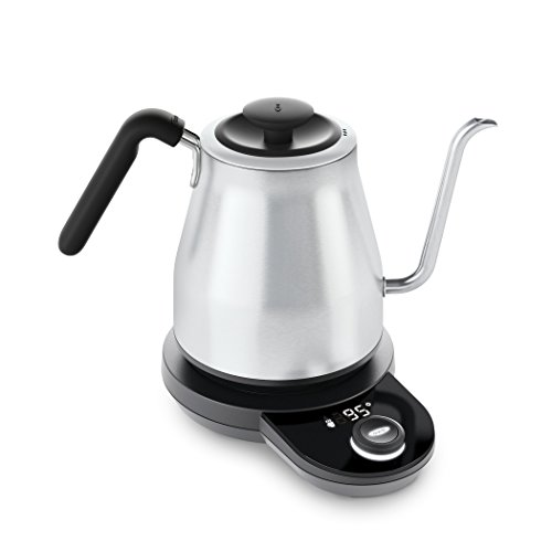 OXO BREW Adjustable Temperature Electric Pour-Over Kettle (Best Electric Pour Over Kettle)