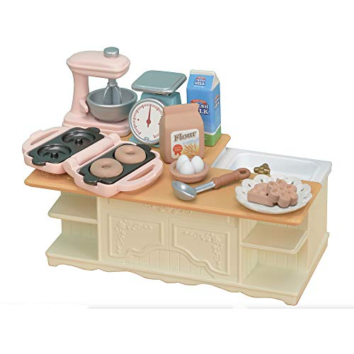 (Calico Critters Kitchen Island)
