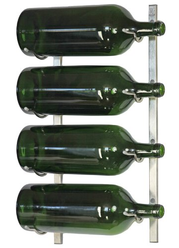 Cheap VintageView Big Bottle Wall Mounted Wine Rack