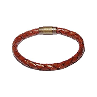 AUTHENTIC HANDMADE Leather Bracelet, Men Women Wristbands Braided Bangle Craft Multi [SKU003131]