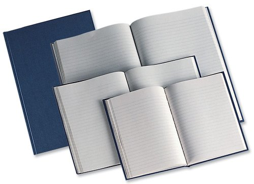 Manuscript Book Casebound 70gsm Ruled 190 Pages A4 [Pack 5] No-Name 100080492
