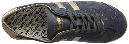 Gola WoMen Bullet Mirror Trainers Grey (Graphite/Gold)