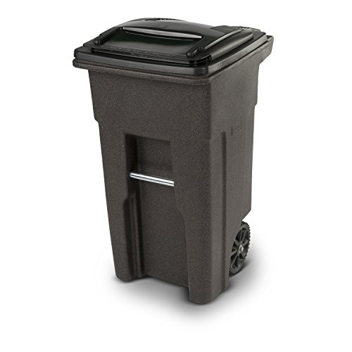 Toter 25532-R1279 Residential Heavy Duty Two Wheeled Trash C