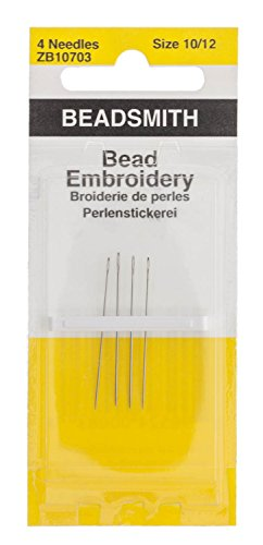 Cheapest Prices! Needles Bead Embroidery, 4/pk - BN1012